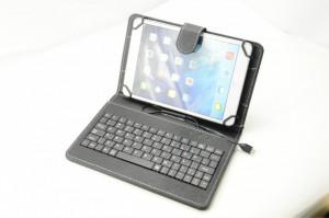 Husa cu Tastatura Tableta 8 inch Universala  Black