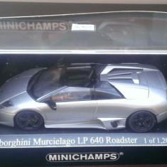 Macheta metal Lamborghini Murcielago LP640 Roadster - Minichamps 1/43 - Macheta auto