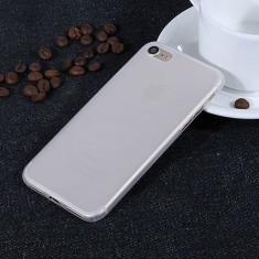 Husa iPhone 7 Ultra Slim 0.3mm Transparenta Mata - Husa Telefon Apple, iPhone 7/8, Plastic, Fara snur, Carcasa