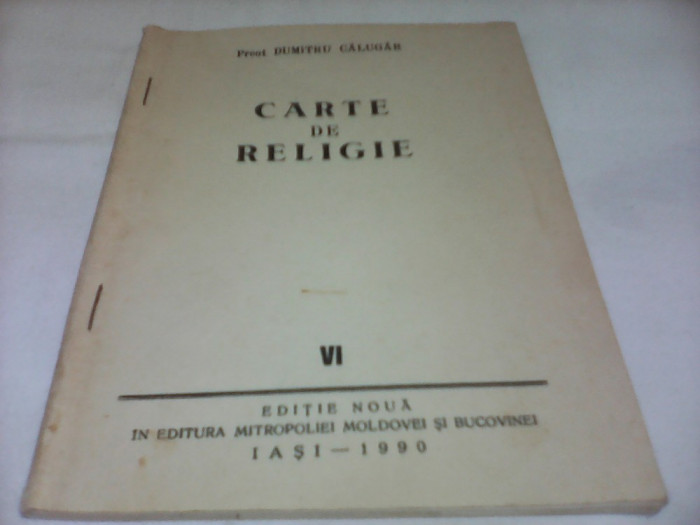 CARTE DE RELIGIE-PREOT DUMITRU CALUGAR A SASEA CARTE DE RELIGIE