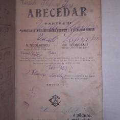 ABECEDAR 1912, PARTEA II - Carte veche