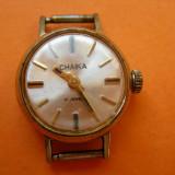 CEAS DE DAMA CHAIKA 17 RUBINE PLACAT, RUSIA - Ceas dama, Mecanic-Manual, Analog