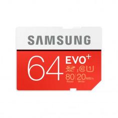 Card SDXC Samsung EVO+ 64GB Class 10