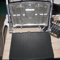 Gratar electric Tec Star, 2000 W, deschidere 180 grade, cu o singura placa