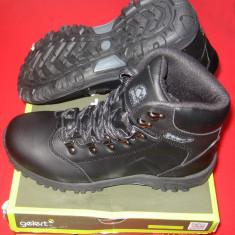 Ghete Gelert Leather Boot Junior Mar. 39 - 24.5 CM - Bocanci copii, Culoare: Negru, Baieti, Piele naturala