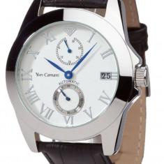 Ceas automatic Yves Camani Maxime original 100% nou in cutie - Ceas barbatesc Yves Camani, Lux - elegant, Mecanic-Manual, Inox, Piele, Rezistent la apa