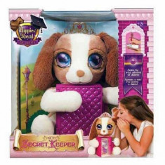 Jucarie de plus Catelusa Printesa Puppy Pastratorul de secrete si jurnalul - Jucarii plus