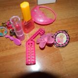 Set de 12 accesorii fashion pentru fetite, 3-10 ani, 4 inele, agrafe, pt papusi