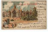 Litografie Ciocolata Suchard, Expozitia Universala Paris 1900