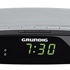 Radio cu ceas Grundig Sonoclock 600 Negru - Argintiu