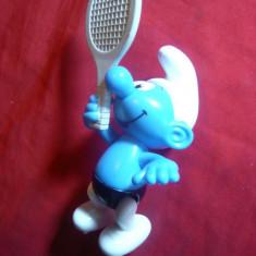 Strumpf -Tenismen, picioare mobile, plastic, h= 13 cm - Figurina Desene animate