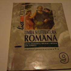 Manual Limba si literatura romana pentru clasa a IX a - Manual scolar all, Clasa 9