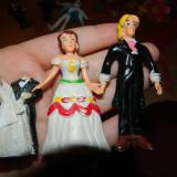 Set de doua figurine, printesa si print, jucarii figurine pentru copii, 5-6 ani