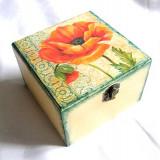 Cutie din lemn - maci - 27766