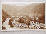 Brezoi Valcea - Valea Lotrului , circulata 1950, Fotografie