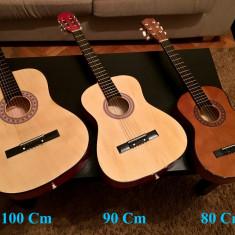 Chitara Acustica cu 6 corzi metalice 100x36cm / Pt Incepatori Amatori Copii