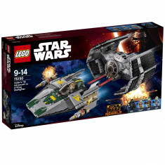 LEGO Star Wars Vader's TIE Advanced vs. A-Wing Starfighter 702buc.