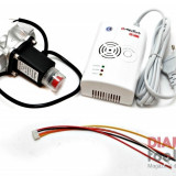 DETECTOR GAZ + ELECTROVALVA 1/2 ALFATECH CSL 5000