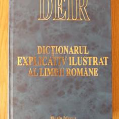 DICTIONARUL EXPLICATIV ILUSTRAT AL LIMBII ROMANE- FLORIN MARCU- cartonata - DEX Altele