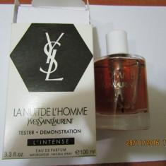 PARFUM TESTER YSL LA NUIT DE L HOMME INTENSE--100 ML---SUPER PRET, SUPER CAL! - Parfum barbati Yves Saint Laurent, Apa de parfum
