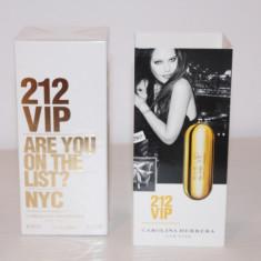 Parfum Carolina Herrera 212 VIP Eau De Parfum pentru femei - Parfum femeie Carolina Herrera, Apa de parfum, 80 ml