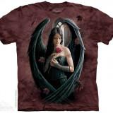 Tricou The Mountain - Înger cu trandafir (Mărime: S) - Tricou barbati, Maneca scurta