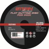 Disc abraziv Stern Austria G12516S pentru polizor unghiular - 125x1, 6mm