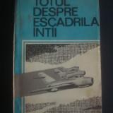 VICTOR DONCIU - TOTUL DESPRE ESCADRILA INTAI
