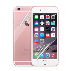 Folie iPhone 7 Plus Fata Spate Transparenta - Folie de protectie Apple, Lucioasa
