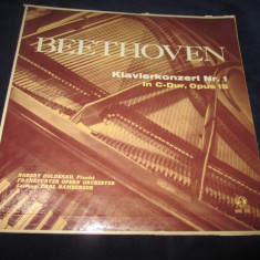 Beethoven/robert goldsand/carl bamberger-Klavierkonzert Nr. 1 In C-Dur, Opus 15 - Muzica Clasica Altele, VINIL