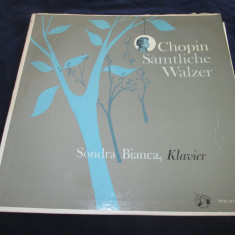 Sondra bianca / chopin - sämtliche walzer _ vinyl, LP, germania - Muzica Clasica Altele, VINIL