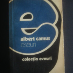 ALBERT CAMUS - ESEURI * COLECTIA ESEURI