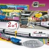 Trenulet electric de calatori si marfa RENFE Tren +