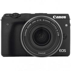 Canon EOS M3 Body Negru - Aparat Foto Mirrorless Canon, Body (doar corp)