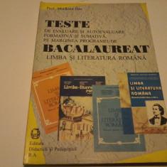 Teste Bacalaureat limba si literatura romana Marilena Baz, Didactica si Pedagogica