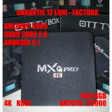 TV BOX 4K Smart TV Android 5.1 MXQ PRO GARANTIE 12 LUNI 1 - Mini PC