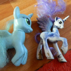 Set de trei ponei, tip My little pony, copie ponei My little pony, de joaca - Figurina Desene animate, 4-6 ani, Fata