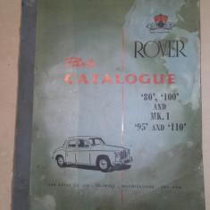 CATALOG PIESE AUTO ROVER, 1963 - Manual auto
