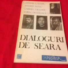 Pr. Galeriu, A. Pleșu, S. Dumitrescu și G.Liiceanu, DIALOGURI DE SEARĂ - Carti Crestinism