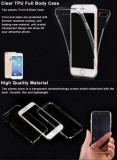 Husa iPhone 7 Plus Full Body TPU Transparenta, iPhone 7/8 Plus, Transparent, Gel TPU, Apple