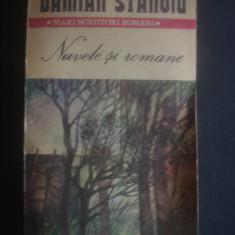 DAMIAN STANOIU - NUVELE SI ROMANE, Anul publicarii: 1987