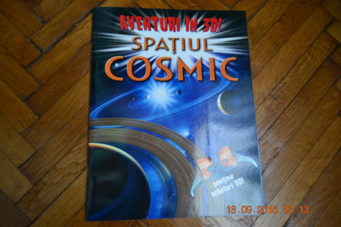 Aventuri in 3D: Spatiul cosmic foto mare