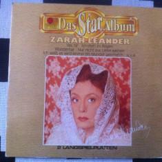 Zarah Leander Das Star Album dublu disc vinyl 2 lp muzica usoara slagare ariola, VINIL