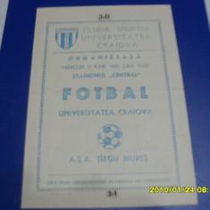 program          U  Craiova   -  ASA  Tg.  Mures