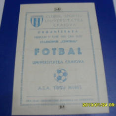 Program U Craiova - ASA Tg. Mures - Program meci
