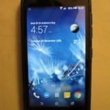 HTC Desire 526G, Dual Sim, 8GB, negru+microsd 32gb+folie de sticla+husa protectie - Telefon HTC, Neblocat, Quad core