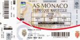 Bilet meci fotbal AS MONACO - OLYMPIQUE MARSILLE 26.11.2016