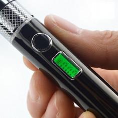 Baterie Biansi E-Vap cu LCD, verificare ohmi si incarcare micro usb