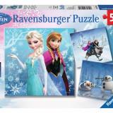 Puzzle Ravensburger Disney Winter Adventures