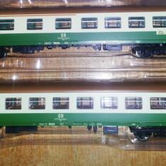 Garnitura 2 vagoane calatori PIKO DR 1;87 HO - Macheta Feroviara Alta